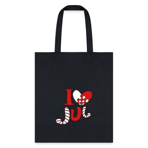 i love jul - Tote Bag