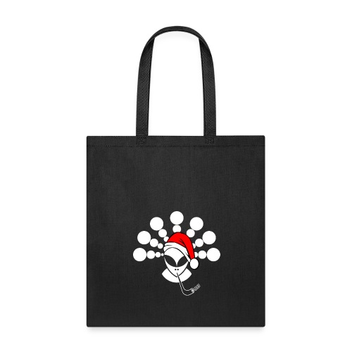 Christmas Alien White - Tote Bag