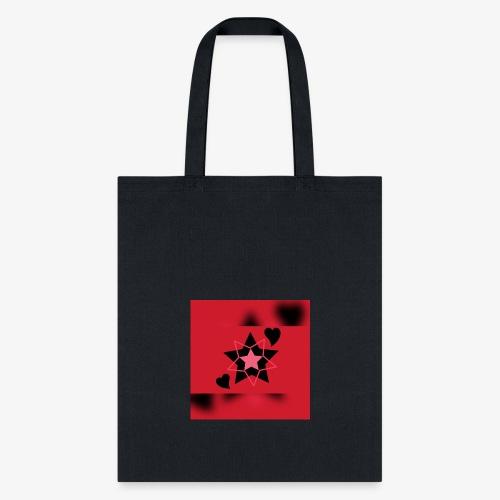 Heart & Star - Tote Bag