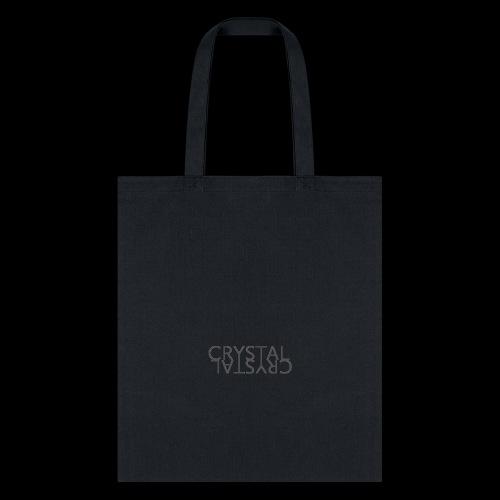 Crystal Logo Black - Tote Bag