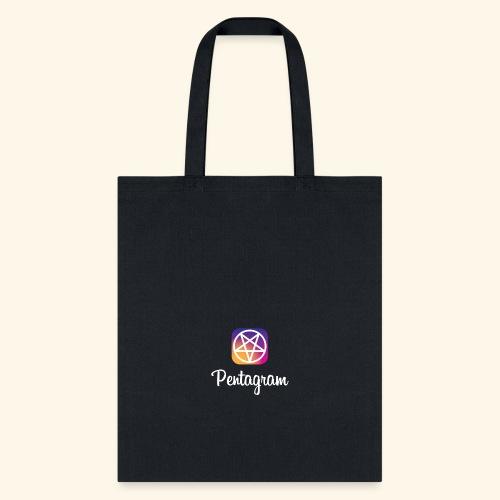 PENTAGRAM / Instagram - Tote Bag