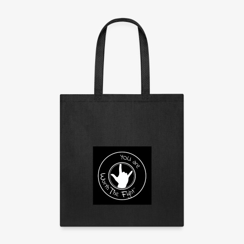 You're Worth The Fight Seal - Tote Bag
