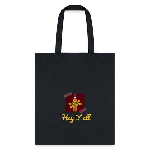 Hey Y'all Logo Sticker - Tote Bag