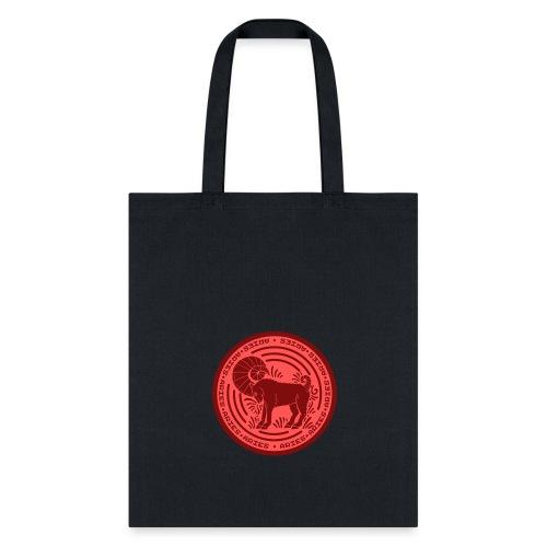 Aries Zodiac Badge 01 - Tote Bag