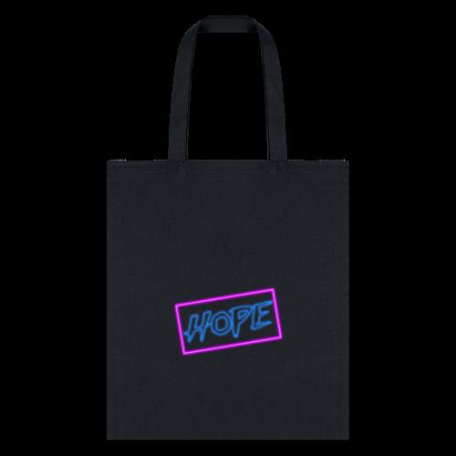Hope neon sign - Tote Bag