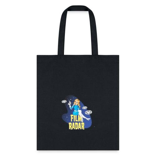 Film Radar space girl logo (blue) - Tote Bag