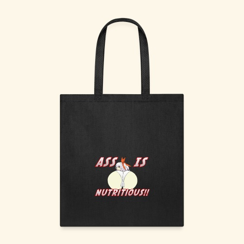 Eating Ass is Nutritious Food Shirt - Tote Bag