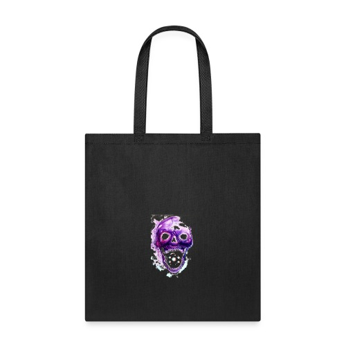Skull vs galaxies - Tote Bag