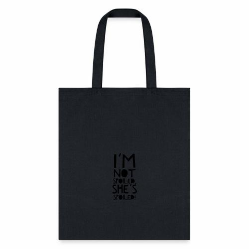 Spoiled Mama - Words - Tote Bag