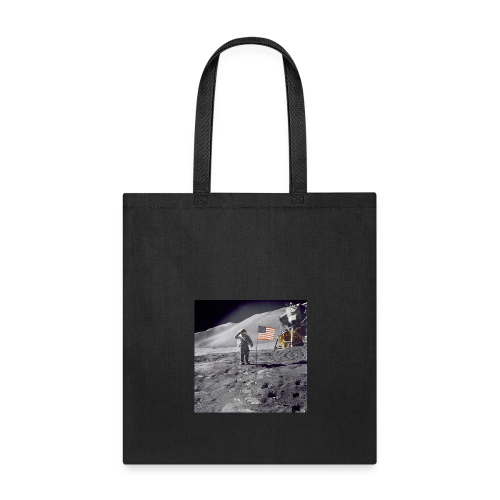 first man on the moon - Tote Bag