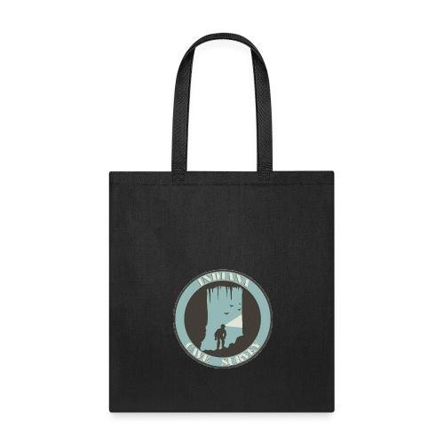 Indiana Cave Survey Logo v1 - Tote Bag