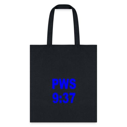 PWS 9:37 - Tote Bag