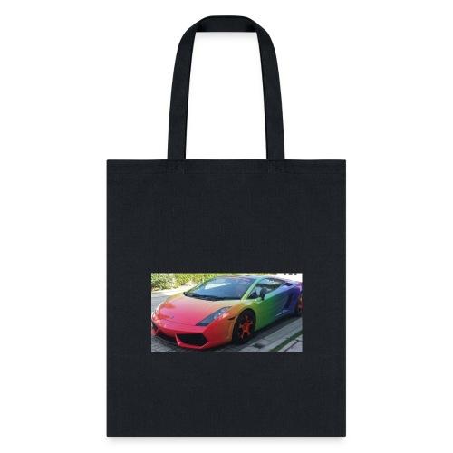 Lamborghini long sleeve - Tote Bag