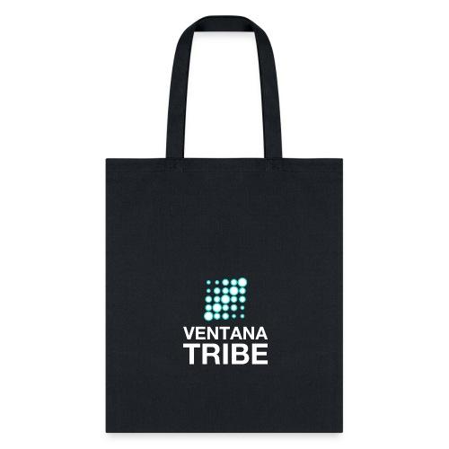 Ventana Tribe White Logo - Tote Bag