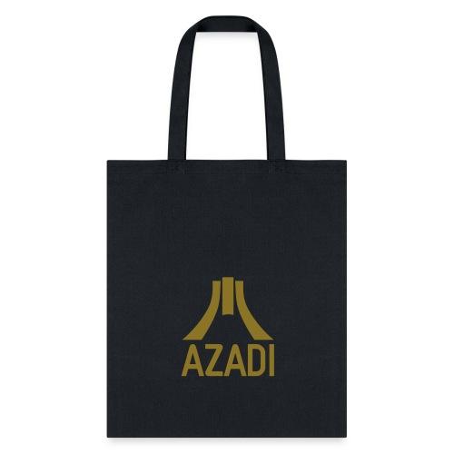 Azadi retro stripes - Tote Bag