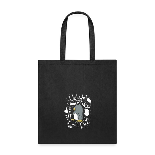 up up pinguin2 - Tote Bag