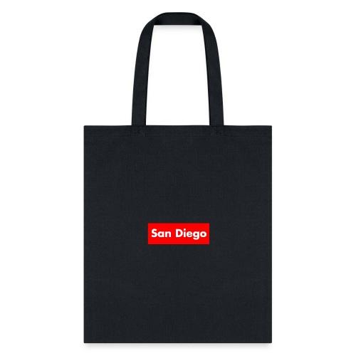 Supreme San Diego v5 - Tote Bag
