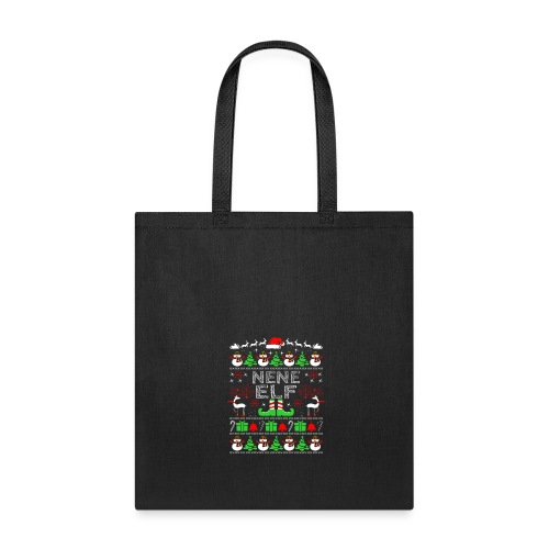 Nene Elf Legs Funny Christmas Costume Santa Helper - Tote Bag