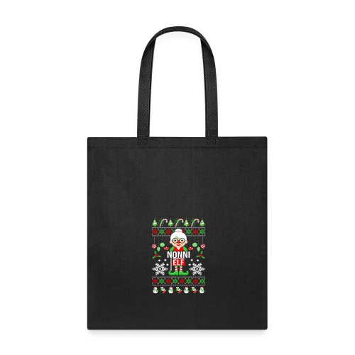 Nonni ELF Christmas Family Matching T Shirt - Tote Bag