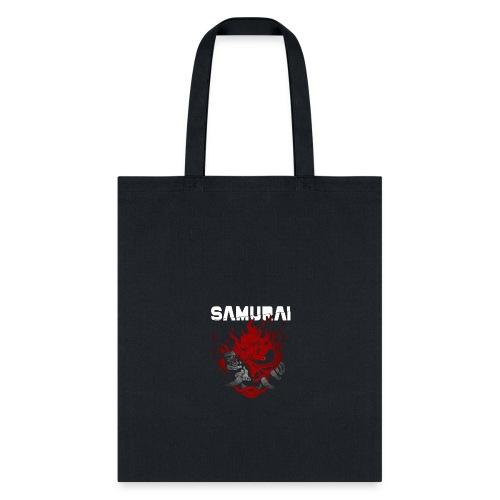 Samurai Demon Oni - Tote Bag