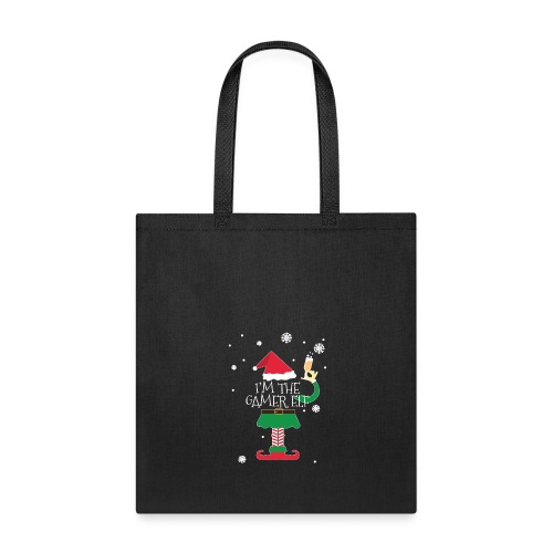 Im the gamer Elf Funny Christmas T-Shirt Gift - Tote Bag