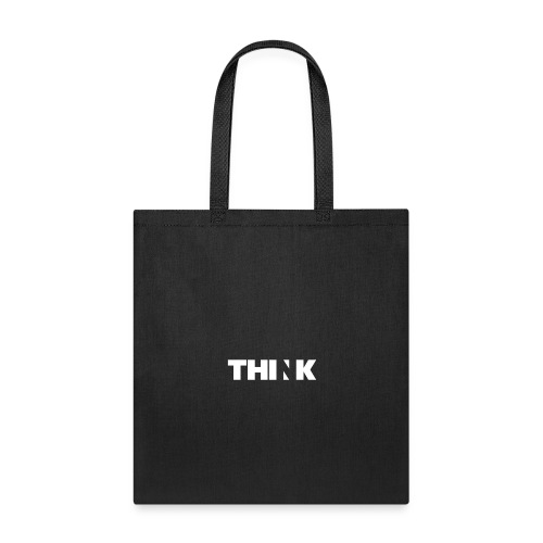 THINK (In White) - Tote Bag