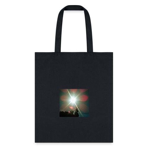 Ecliptic Red Dawn - Tote Bag