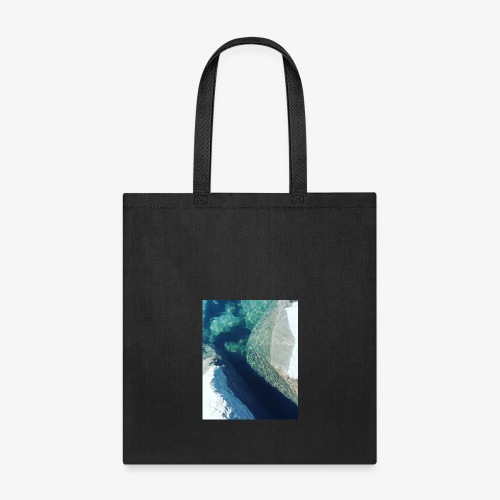 Rock underwater in New Zealand - Tote Bag