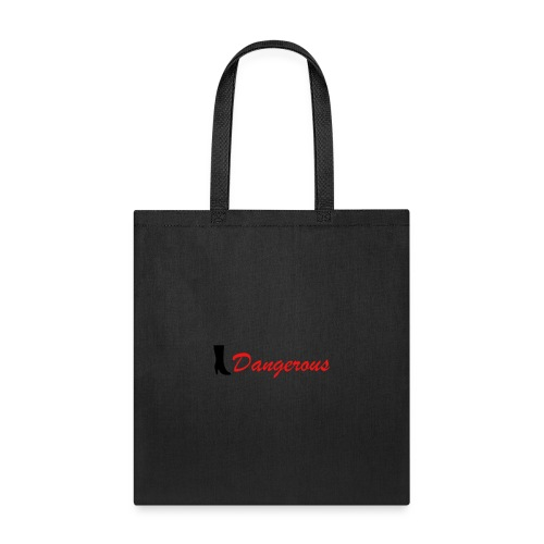 Black&Red Women's T-Shirt Edition Dangerous 👠 - Tote Bag