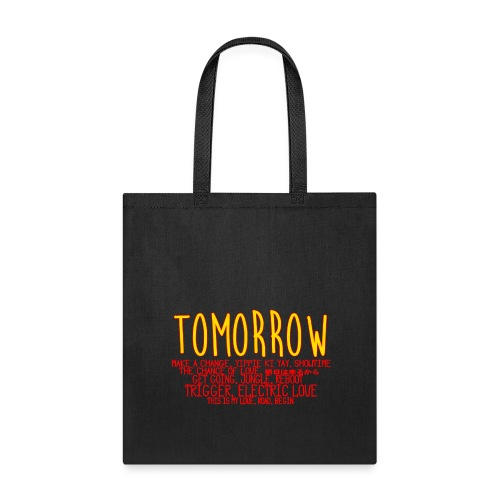 Tomorrow Album Design - Tote Bag
