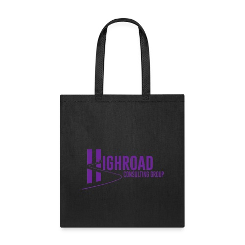 Highroad Logo Overlay Purple - Tote Bag