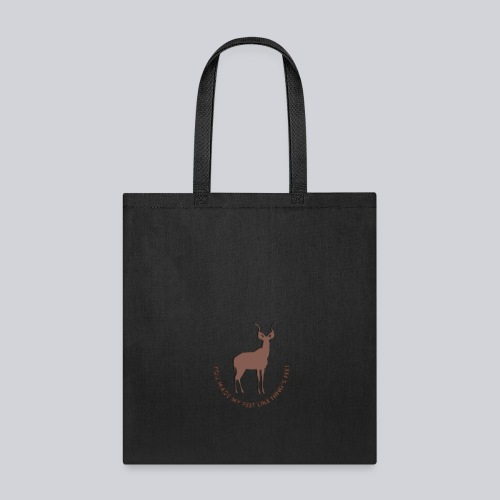 Psalm 18:33 - Tote Bag