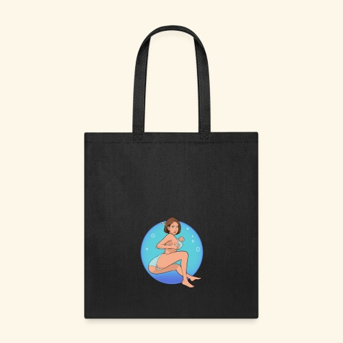 Sitting feather2 cropped - Tote Bag
