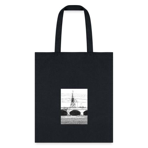 The old city bridge - Tote Bag