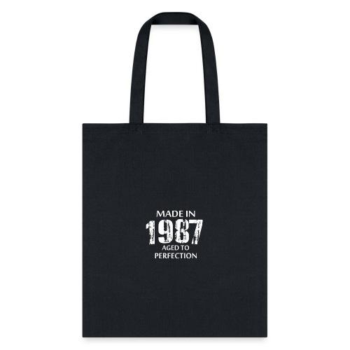 1987 - Tote Bag