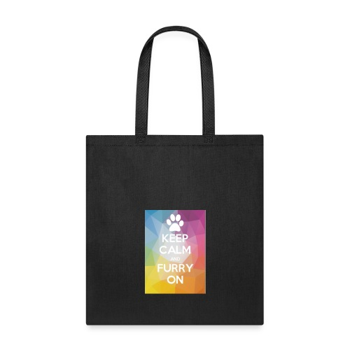 Keep Calm And Furry On Merch By ZOOM - Tote Bag