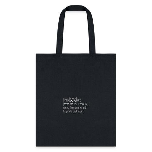 Be Xenodochial - Tote Bag