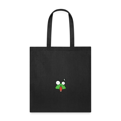 Frog with amazed face expression - Tote Bag