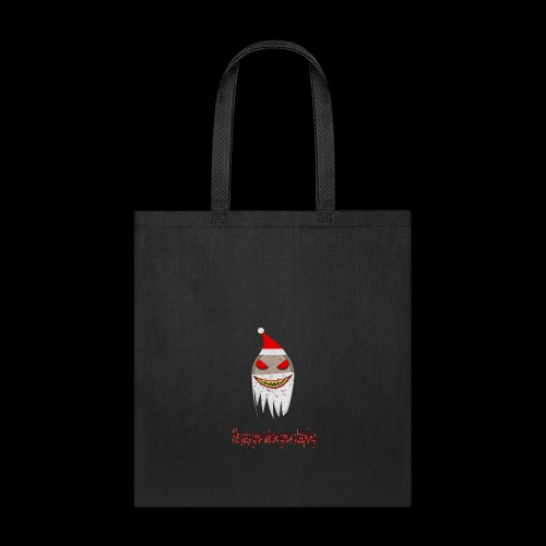 creepy santa - he sees you when your sleeping! - Tote Bag
