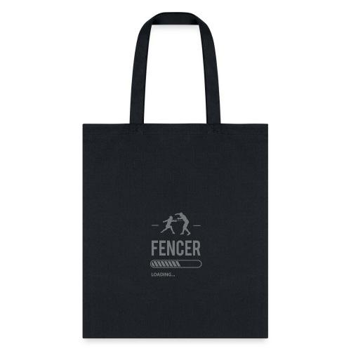 Fencer Loading - Tote Bag