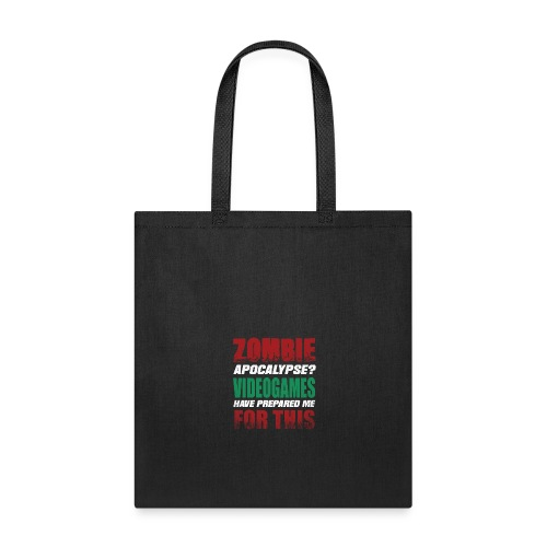 Zombie Videogames Gaming - Tote Bag