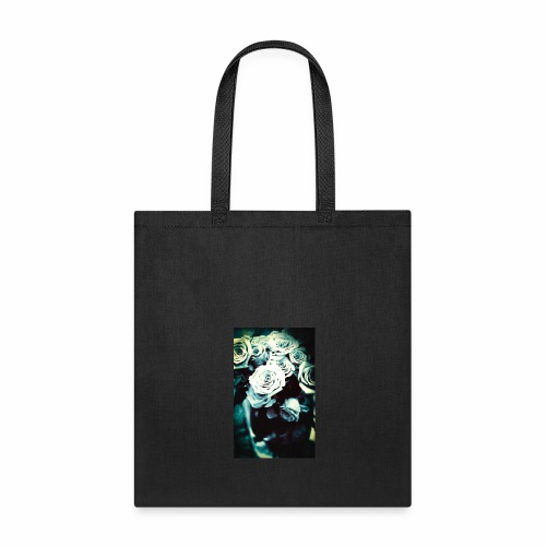 Black and White Roses - Tote Bag