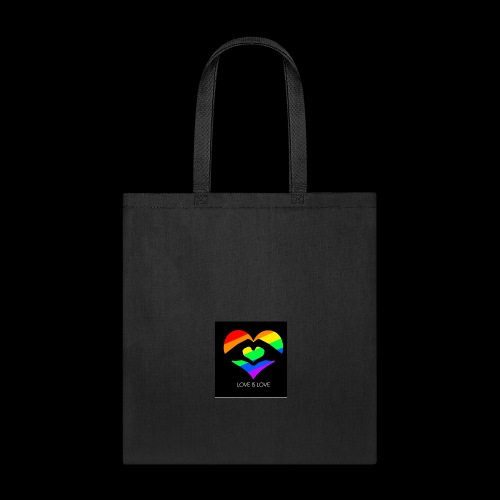 subhan squad love is love logo bag - Tote Bag