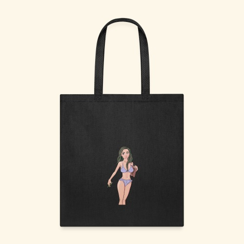 quiet pose 05 girl only crpped - Tote Bag