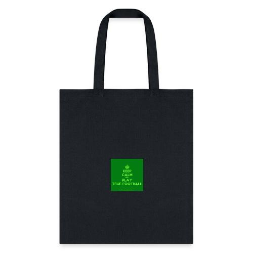 KeepCalmStudio com Crown Keep Calm And Play True - Tote Bag