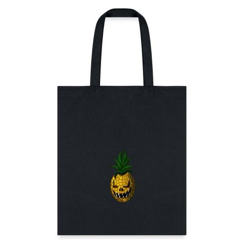Creepy Halloween Pineapple - Tote Bag