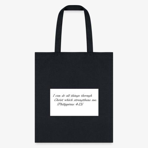 Scripture T - Tote Bag