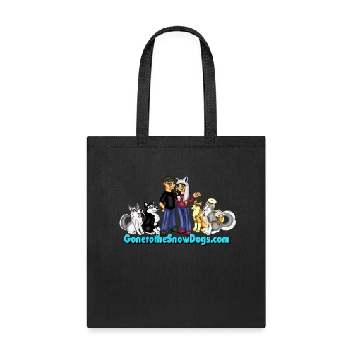 Snow Dogs Vlogs Logo - Tote Bag