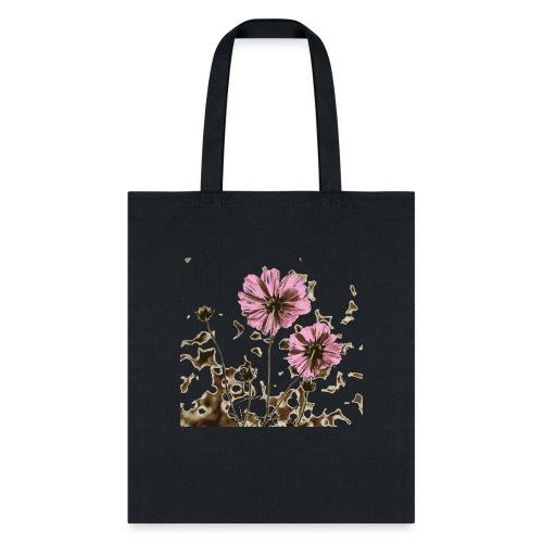 Burnt Flower - Tote Bag
