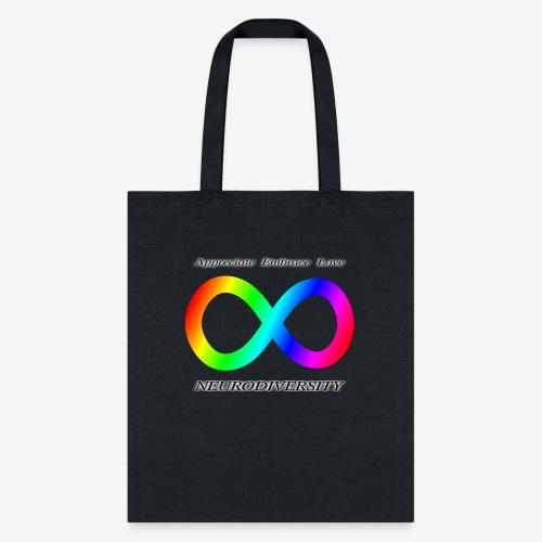 Embrace Neurodiversity - Tote Bag